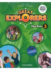 GREAT EXPLORERS 3 CLASS BOOK