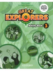 GREAT EXPLORERS 3 ACTIV. BOOK
