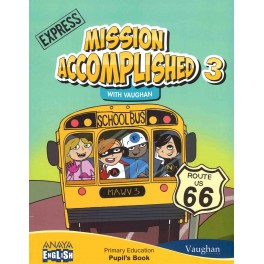 ENGLISH 3 MISSION EXPRESS PUPIL'S BOOK